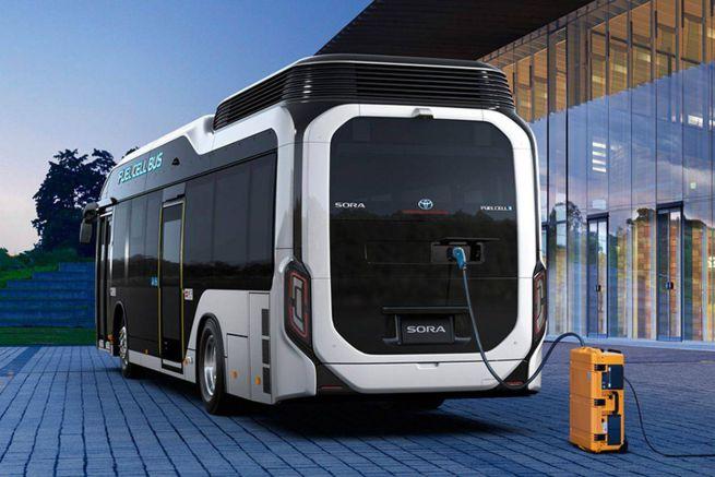 Bus elettrico Toyota Sora fuel cell